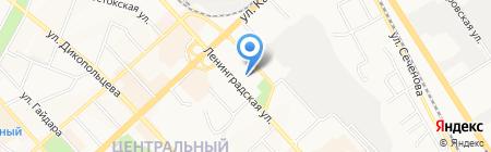 Кораблики на карте Хабаровска