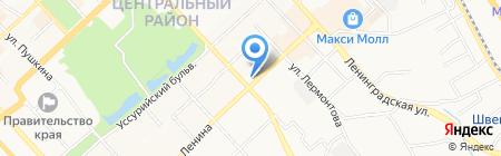 Cezon на карте Хабаровска