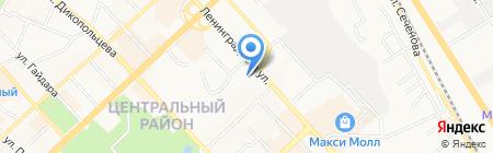 Медицинский центр на карте Хабаровска