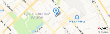 Платинум на карте Хабаровска