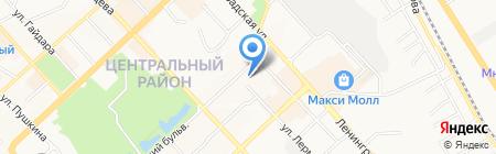 Гномик на карте Хабаровска