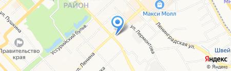 Медиком на карте Хабаровска