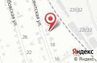 Схема проезда до компании Автопромснаб в Хабаровске