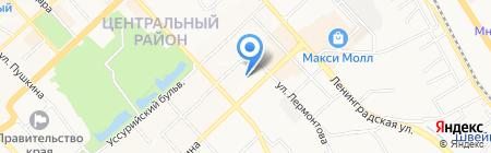 ХИИК на карте Хабаровска