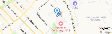 Гарт на карте Хабаровска