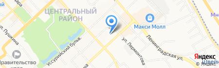 Банкомат Альфа-Банк на карте Хабаровска