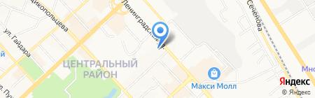 Макс Трэвел на карте Хабаровска
