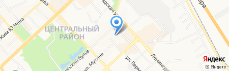 Росводоканал на карте Хабаровска