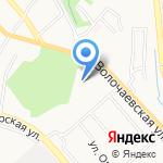 Станция скорой медицинской помощи на карте Хабаровска