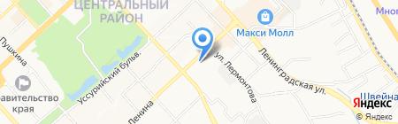 Скайнет-сервис на карте Хабаровска
