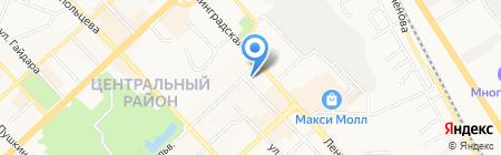 FLY на карте Хабаровска