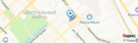Отдел полиции №5 на карте Хабаровска