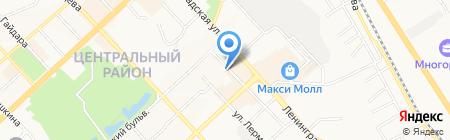 ВОСТОЧНЫЙ ЛЕКАРЬ на карте Хабаровска