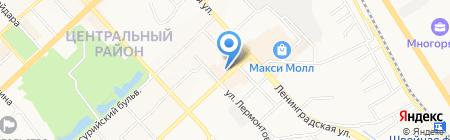 Riviera на карте Хабаровска