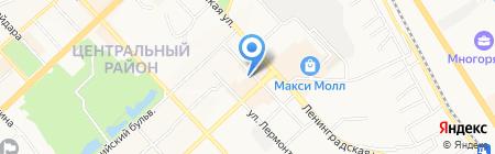 Лингоу на карте Хабаровска