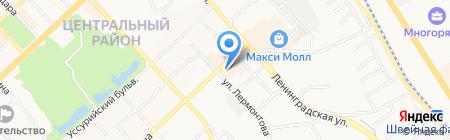 Vis-A-Vis на карте Хабаровска