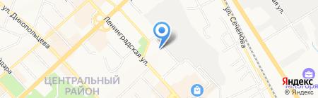 The ONE на карте Хабаровска