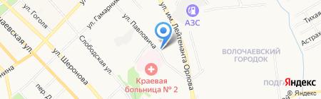 АмурСтрой на карте Хабаровска