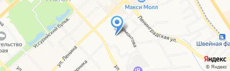 Прогресс на карте Хабаровска