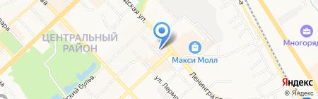 ЭНЕРГОПЛАЗА на карте Хабаровска