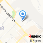 Третьяковка на карте Хабаровска