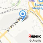 СДЭК на карте Хабаровска