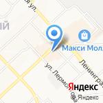 Stop line на карте Хабаровска