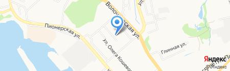 Детский сад №5 на карте Хабаровска