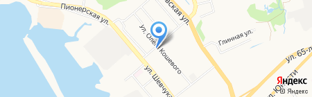 Оазис здоровья на карте Хабаровска