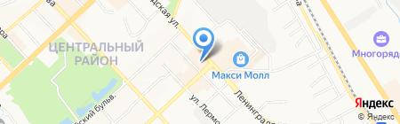 FanZone на карте Хабаровска