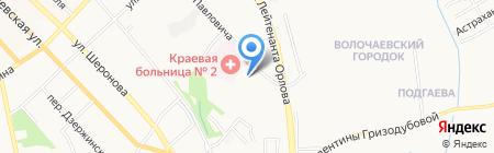Госпиталь на карте Хабаровска