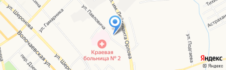 ННЬ на карте Хабаровска