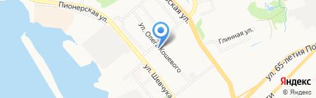 Мясной двор на карте Хабаровска