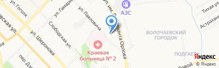 Автостекло на карте Хабаровска