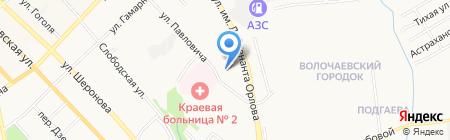 Центр ремонтных технологий на карте Хабаровска