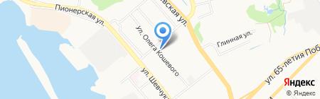 Денди Дог на карте Хабаровска
