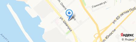 СЭТ на карте Хабаровска