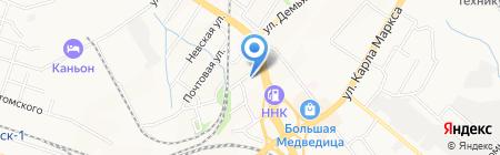 Русский свет на карте Хабаровска