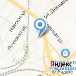 Цивилист на карте Хабаровска