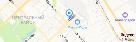 Зомби бургер на карте Хабаровска