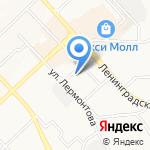 Троя на карте Хабаровска