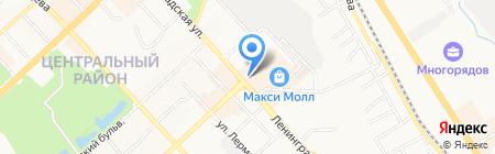 Реалист на карте Хабаровска