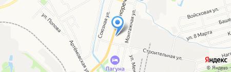 Установка-Монтаж-Ремонт на карте Хабаровска