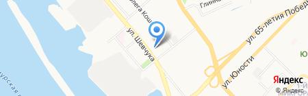 Отдел полиции №4 на карте Хабаровска