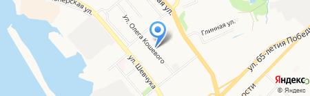 Фрейя на карте Хабаровска