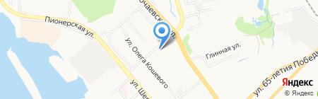 Мастерская Гефеста на карте Хабаровска