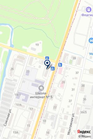 АЗС № 11 ТОРГОВАЯ КОМПАНИЯ ВОСТОК НЕФТЕСБЫТ на карте Хабаровска