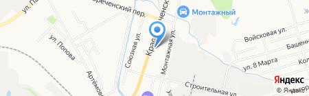 Кабинет неотложной наркологической помощи на карте Хабаровска