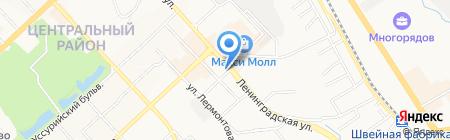 Franchesco Donni на карте Хабаровска