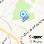 Тройка ДВ на карте Хабаровска